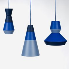 "Lamp ILI-ILI, which means ""either-or"". By the croatian design trio GRUPA. Choose your color, choose your shape and create your lamp."