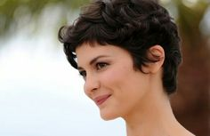 Audrey Tautou, to act as Amelie in the film Amelie