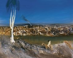View River Bank By Sidney Nolan; Access more artwork lots and estimated & realized auction prices on MutualArt. Australian Painting, Australian Artists, Sidney Nolan, River Bank, Landscape Paintings, Contemporary Art, Art Gallery, Artwork, Pictures