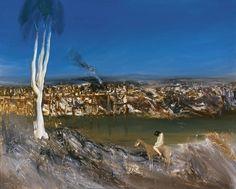 Sidney Nolan   Australian, 1917-1992   River-Bank, 1964