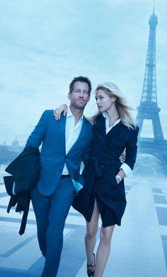 James Denton For Daniel Hechter men Paris muse