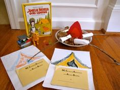 Activities to go with Amelia Bedelia Goes Camping.