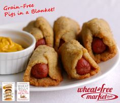 Grain-Free Pigs in a Blanket! This playful appetizer will be loved ...