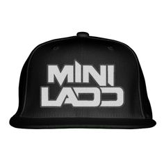 Mini Ladd Embroidered Snapback Hat