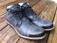 New Labourer Chukka (Black Full Grain/Quilted Canvas) - Timberland Boot Company revives early 20th century style in this bold utilitarian boot.