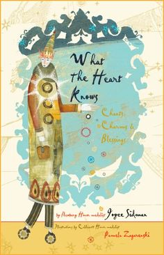 """""""What the Heart Knows"""" chants charms & blessings by Joyce Sidman. Poet extraordinaire won the Newberry Honor Medal for """"Dark Emperor and Other Poems of the Night"""" and continues to write poetry for children that has been called """"fresh,"""" """"inspiring,"""" and """"accessible"""" to her young audience. She is intrigued by the idea of """"words of power""""—chants and charms that were once believed to have real influence in everyday life. Elegant pairing with Caldecott Honor-winning Pamela Zagarenski's artwork."""