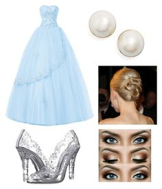 """""""Cinderella Themed Prom"""" by maddog3861 ❤ liked on Polyvore featuring Dolce&Gabbana and Kate Spade"""