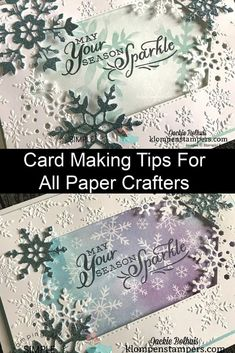 I love sharing card making tips and this video is packed with ideas you'll use over and over in your card making, scrapbooking, or general paper crafting. Learn more at www.klompenstampers.com #cardmakingtips #cardmakingtutorials #handmadecards #scrapbooking #papercrafts #papercrafting #jackiebolhuis #klompenstampers #stampinup #stampinupcards