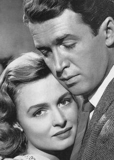 James Stewart and Donna Reed - It's A Wonderful Life, a fabulous movie!