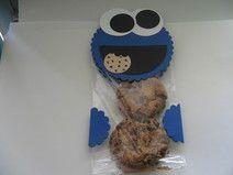 Mitgebsel Kindergeburtstag Blaues Monster