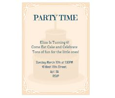 Download this Elegant Party Invitation Card and other free printables from MyScrapNook.com