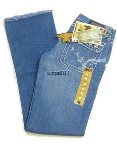 "Womens Iron Horse Jeans IHJ 8"" Low Rise Boyfriend 0 X-Long Regular Fit 30 x 36  #IronHorse #Boyfriend"