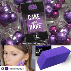 This is an interestingly shaped makeup sponge from @vera_mona in the best color ever. Anyone tried it? : @trendmood1