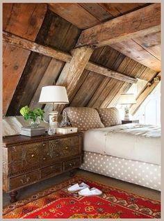 Modern Country Style: 50 INCREDIBILE E Inspiring Paese moderno Attico Camere da letto Click through for details.