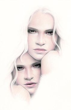 Feminine Portraits by Bec Winnel | Cuded