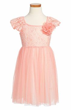 Main Image - Popatu Tulle Skirt Party Dress (Toddler Girls & Little Girls)