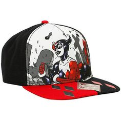 DC Comics Harley Quinn Cemetery Snapback Hat Hot Topic Snapback Hats adef66cd56cf