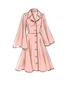 Schnittmuster Vogue 9345 Rascol Source by c. - Schnittmuster Vogue 9345 Rascol Source by - Dress Design Sketches, Fashion Design Drawings, Fashion Sketches, Dress Designs, Fashion Design Sketchbook, Clothing Sketches, Clothes Draw, Drawing Clothes, Pet Clothes