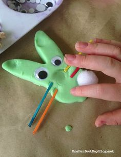 Easter fun with play dough