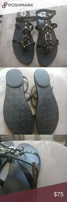 Tory Burch sandals Very good condition, worn twice maybe! Tory Burch Shoes Sandals