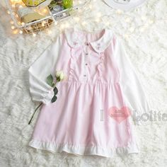 Cheap mori girl, Buy Quality cotton and linen directly from China sleeve dress Suppliers: Japanese preppy wind sweet doll collar butterfly embroidery cute cotton and linen long sleeves dress mori girl Butterfly Embroidery, Cute Butterfly, Mori Girl, Kawaii Fashion, Preppy, Flower Girl Dresses, Doll, Summer Dresses, Clothes For Women
