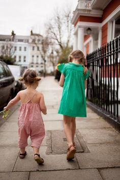 girls outside wearing Soor Ploom
