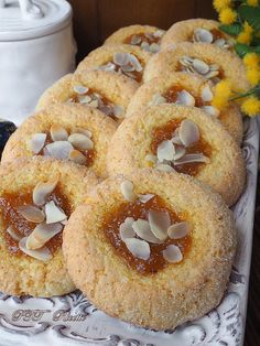 Italian Cookies, Italian Desserts, Biscuits, Biscotti Cookies, Cookie Bars, Doughnut, Bakery, Muffin, Cooking Recipes