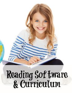 Reading Curriculum and Software. Great blog for homeschool families! #Reading Curriculum #Homeschool