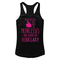 "#Princesses Are Born In February T Shirts<br/>                 <div class=""innercontent"">Princesses Are Born In February T Shirts 100% Cotton. Imported. Machine wash cold with like colors, dry low heat. Lightweight, Classic fit, Double-needle sleeve and bottom hem, Unisex sizing; consult size chart for details, Roomy Unisex Fit. Double needle stitching; Pouch pocket, Air jet yarn creates a smooth, low-pill surface. Ladies' fit with shorter body length and tapered sleeves Decoration type…"