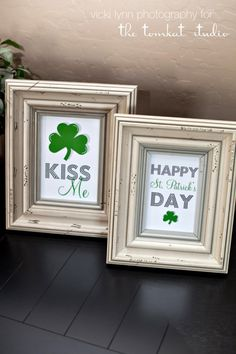 Simple St. Patrick's Day decoration and easy to customize for  your home.