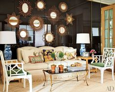 Tory Burch - Chinoiserie Filled Offices