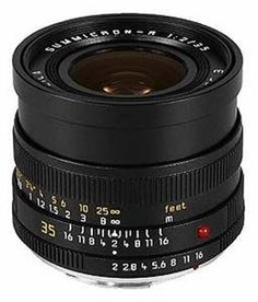 Leica 35/2.0 Summicron-R II camera lens? Ga naar Cameraland.nl!
