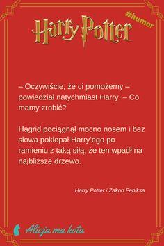 Harry Potter i Zakon Feniksa - najlepsze fragmenty, najzabawniejsze cytaty | Hagrid #HarryPotter #cytat #cytaty #książki Harry Potter Quotes, Humor, Books, Fotografia, Cookies, Universe, Quotes From Harry Potter, Libros, Humour