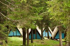 Studio Gellner, Sergio Casagrande · La Colonia e il Campeggio al Villaggio Eni Borca di Cadore