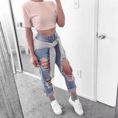 Qué jeans favorecen a tu tipo de cintura