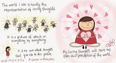 ACIM-doodles: The Power of A Thought