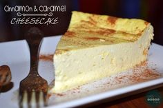 Cinnamon & Caramel Cheesecake | DUKAN DIET RECIPES