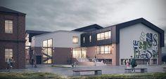 Реконструкция школы on Behance