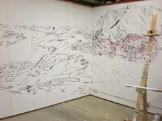 site-specific & expanded drawing
