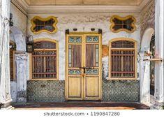 Old House Penang Island Georgetown Malaysia 스톡 사진(지금 편집) 1190847280 Georgetown Malaysia, Penang Island, Petaling Jaya, Steel Railing, Real Ghosts, The Tenant, Walk Past, Main Door, Hostel