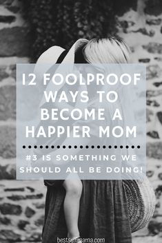 All moms take on a lot every single day. Being a mom is just really hard work. Here are 12 habits of happy moms that can make a big difference in your life. Jamie Lynn, Stay At Home Mom, Happy Mom, Mom Advice, Life Is Hard, Kids And Parenting, Saving Money, How To Become