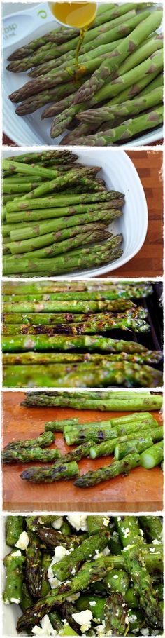 This Grilled Asparagus and Feta Salad is very simple, and yet so tasty. Is the kind of salad that makes you believe you could give up meat so easy, since i