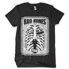 Bad Bones Krew T-shirt design