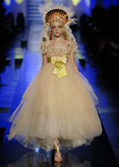 My dream. Jean Paul Gaultier Haute Couture Spring 2007