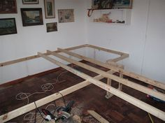 Bed under deck of office photo 3