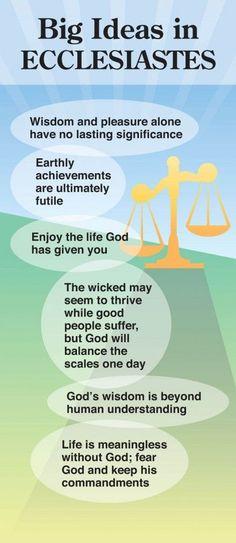 Big Ideas in Ecclesiastes