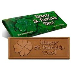 St Patrick\'s Day 2x 5 Chocolate Bar