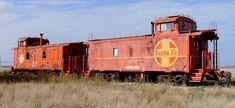 Old Santa Fe Railroad Caboose (Western Lubbock County, Texas)