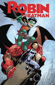DC COMICS (W) Ray Fawkes (A/CA) Ramon Bachs The series conclusion to Damian…