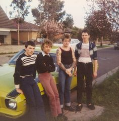 Growing up with Sharpies, the Gang more Fashion Australia Teen Boy Fashion, Retro Fashion, Vintage Fashion, Vintage Men, 70s Outfits, Vintage Outfits, Crescendo, Australia, Youth Culture